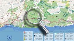 Baska Voda map